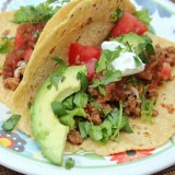 ground turkey tacos