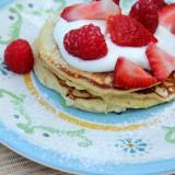 lemon ricotta pancake