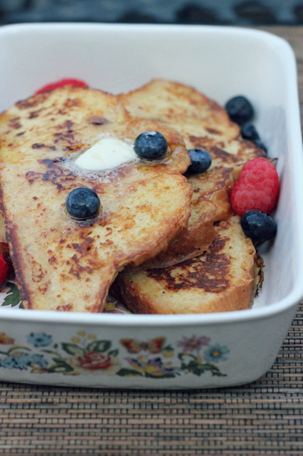 Buttermilk French Toast | A Hint of Honey