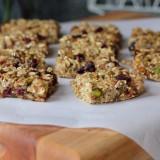 soft baked oatmeal bars