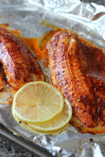 Smoked Paprika Butter Fish