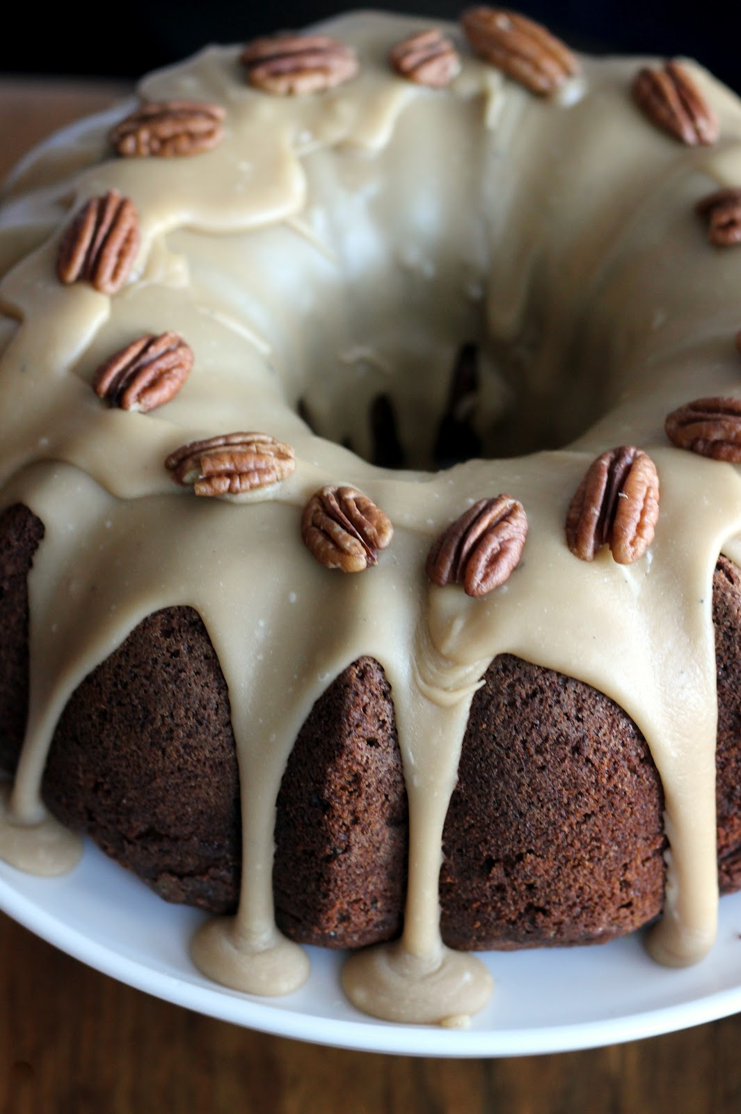 Apple-Cream Cheese Bundt Cake Recipe — Dishmaps