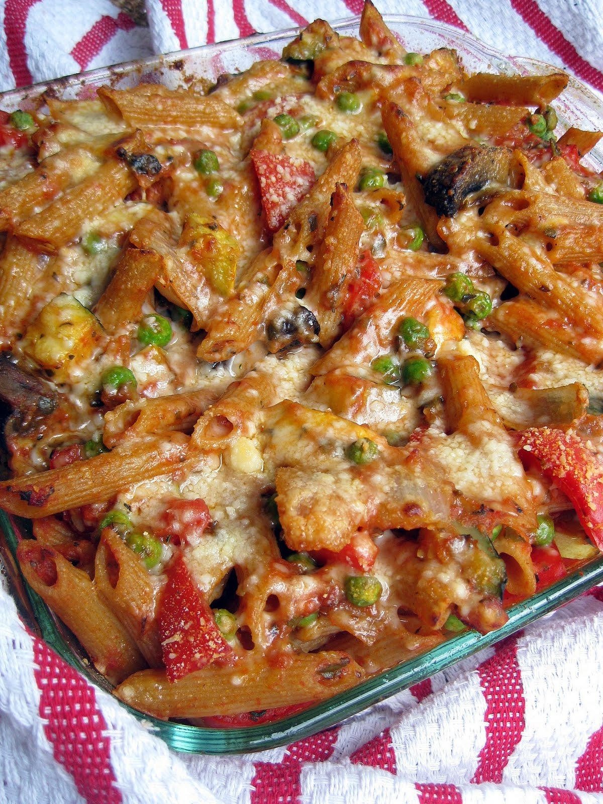 Roasted vegetable penne pasta recipe