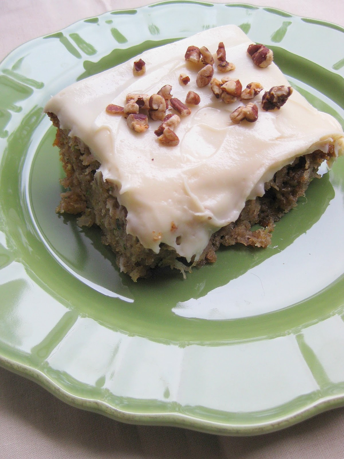 Zucchini Pineapple Sheet Cake
