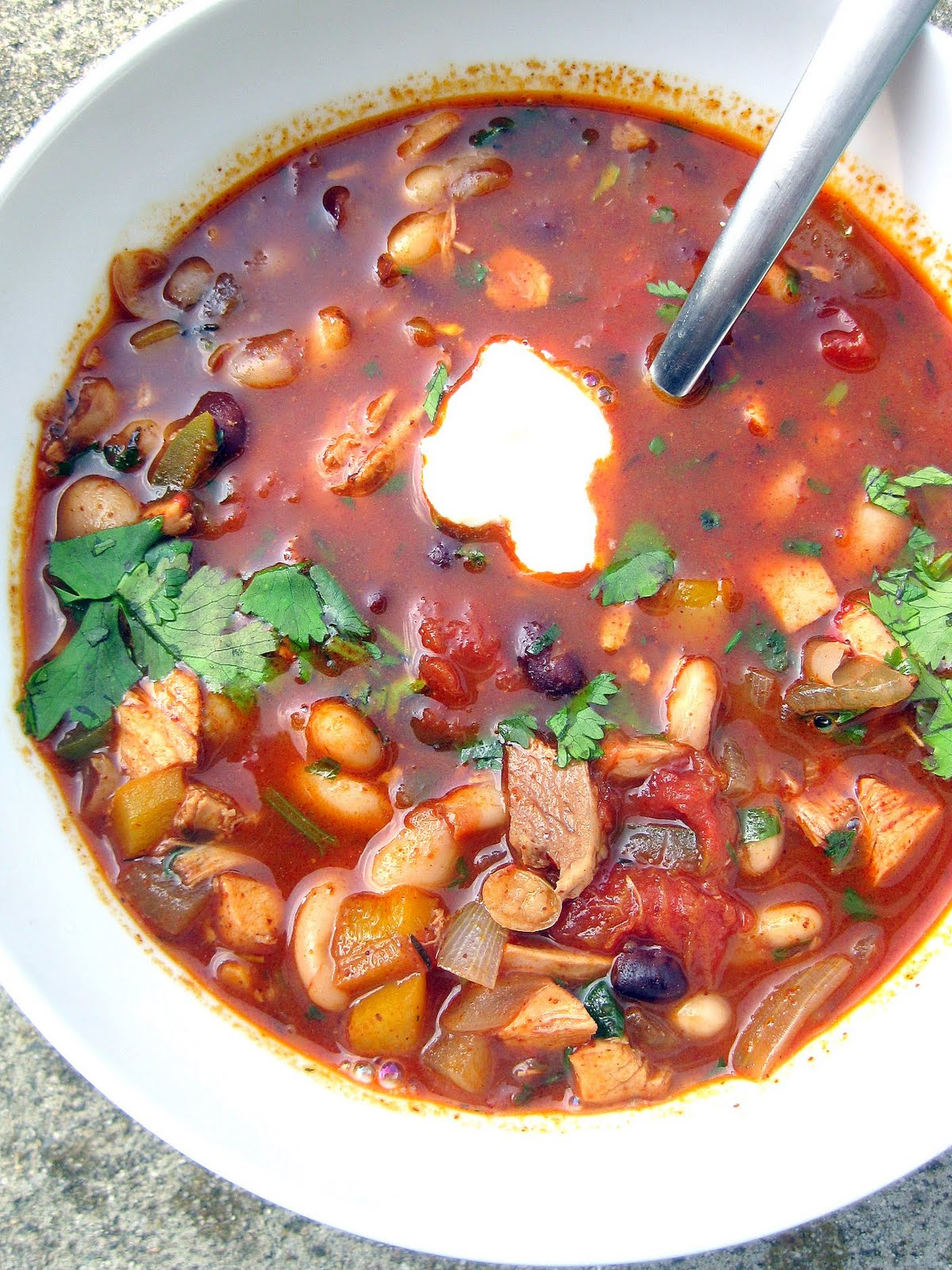Jerk Chicken Chili A Hint Of Honey