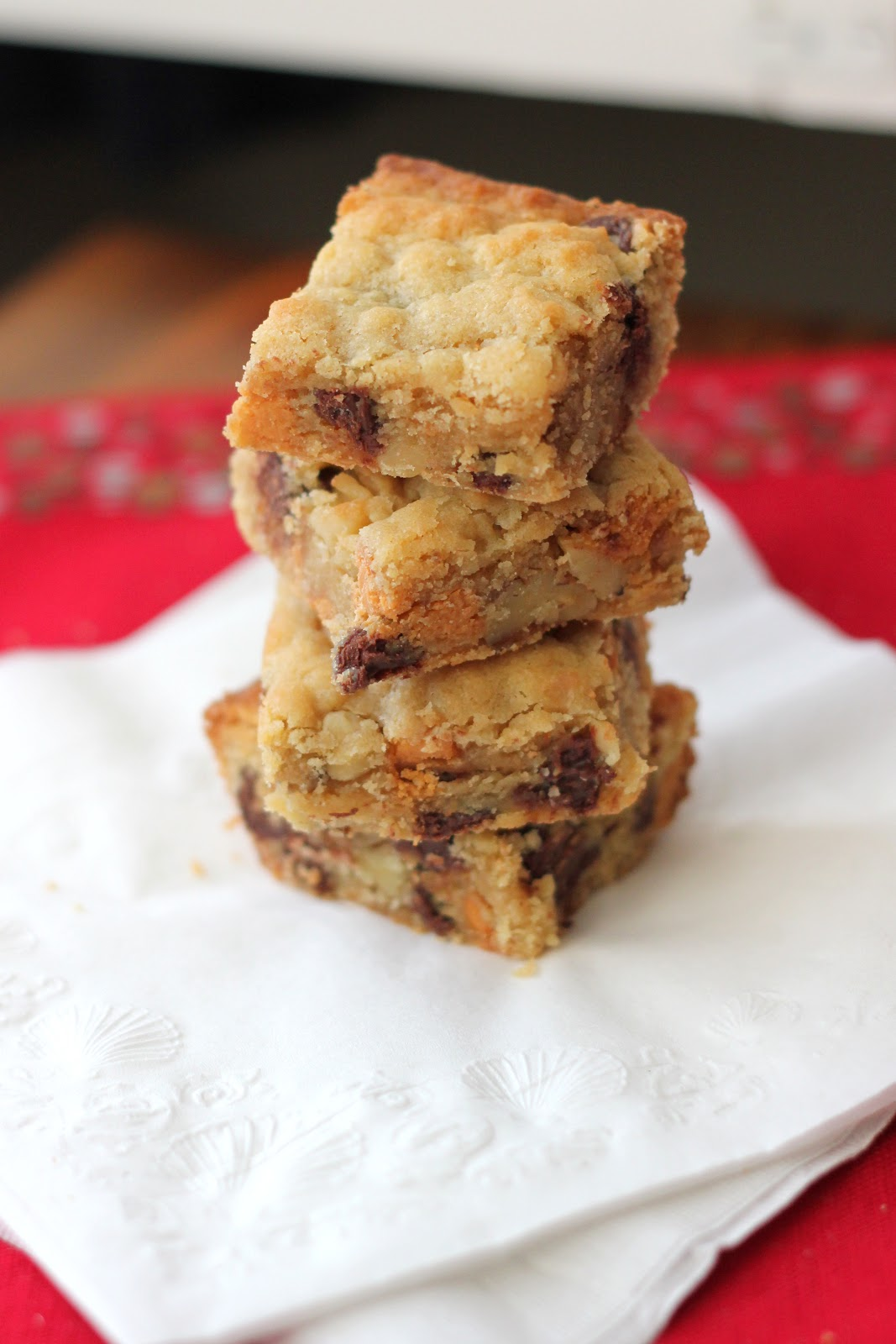 Chocolate Chip, Butterscotch, and Walnut Cookie Bars | A ...