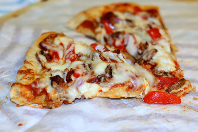 This easy 2 ingredient homemade pizza dough recipe in an easy way to make tasty pizza crusts without spending too much time money or time in the kitchen! This 2 ingredient pizza dough recipe is super simple for a really fast dinner! Some nights when I'm too sick to cook I will whip up something.