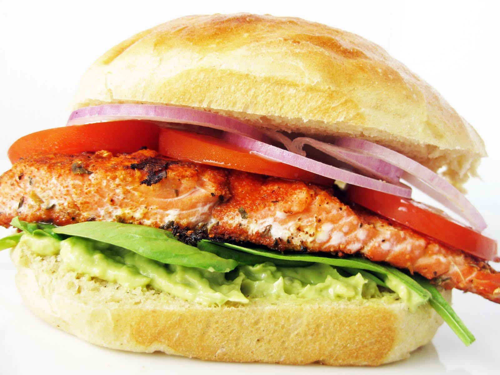 Blackened Salmon Sandwich Recipes — Dishmaps